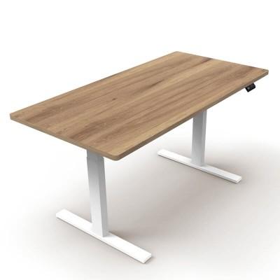 โต๊ะเพื่อสุขภาพเออร์โกเทรน Sit 2 Stand GEN2 ไม้โอ๊คแท้
